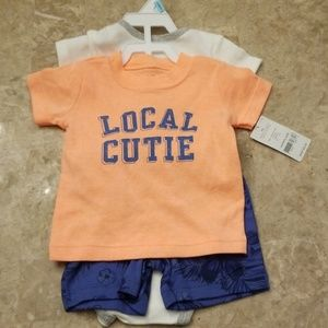 Carter's 3 pcs Summer Outfit